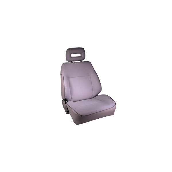 FRONT SEAT, RUGGED RIDGE, FACTORY REPLACEMENT WITH RECLINER, GRAY, ALL SUZUKI SAMURAI, PASSENGERS SIDE