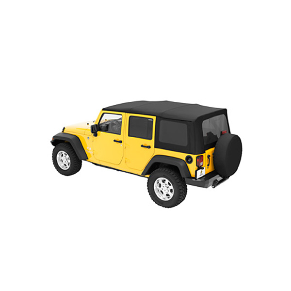 SUPERTOP JK 07-08 4 DOOR BLACK DIAMOND