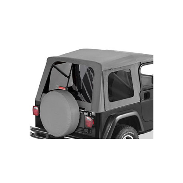 TINT KIT TJ SUPERTOP CHARCOAL
