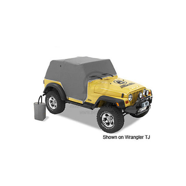 TRAILCOVER CJ/YJ WRANGLER 80-91 CHARCOAL