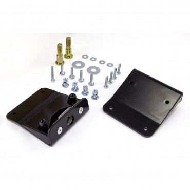 DOOR LATCH BRACKET PAIR 76-95 CJ7 AND YJ WRANGLER