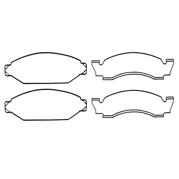 Brake Pads (Front Disc) - CJ