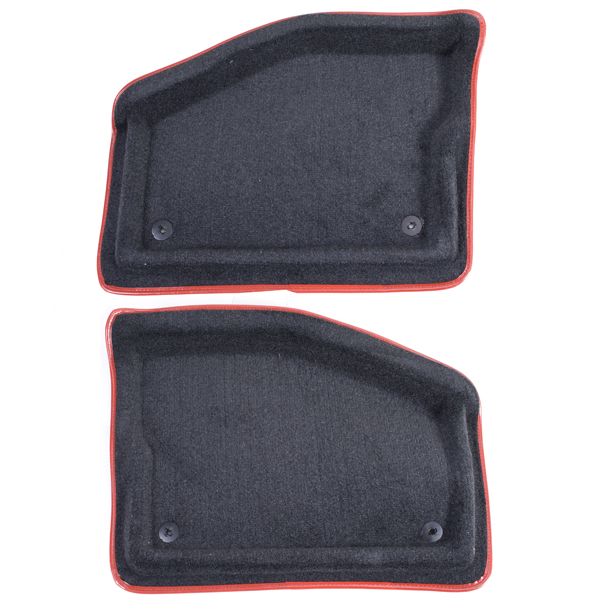 X-RACING REAR-SEAT RED 01-UP TJ