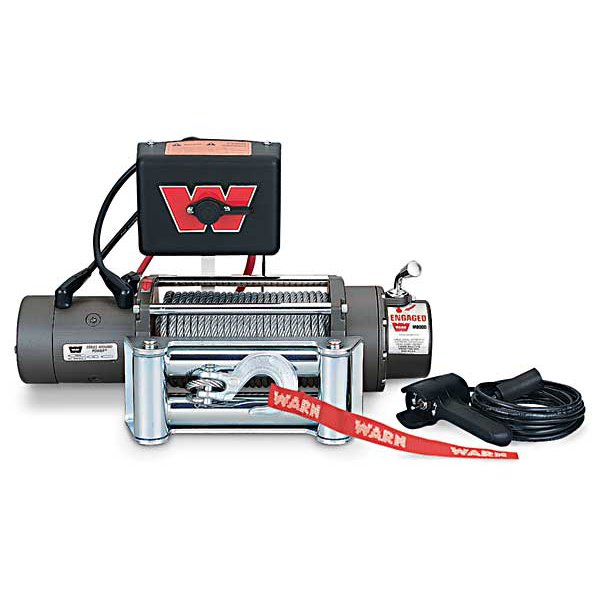 WINCH M8000 WITH ROLLER FAIRLEAD
