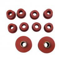 BUSHING SET, SPRING 76-86 FRONT