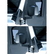 SIDE MIRROR PAIR, 03-06 JEEP WRANGLER/UNLIMITED, BLACKRugged Ridge offers the most complete line of replacement mirrors for Jeep vehicles found anywhere. All replacement mirrors are replicas of the factory original so you maintain that original equipment look while upgrading or replacing those the factory original so you maintain that original equipment look while upgrading or replacing those worn mirrors. Each replacement mirror uses only the finest materials ensuring a long life and ease of use. This is the mirror, mirror arm, and bracket.                     Replaces: 55395060KMade in TAIWANUPC: 804314143770Label: 11002.09 MIRROR PAIR 03-06 TJ