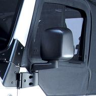 SIDE MIRROR, BLACK, LEFT ONLY, 03-06 JEEP WRANGLER/UNLIMITEDRugged Ridge offers the most complete line of replacement mirrors for Jeep vehicles found anywhere. All replacement mirrors are replicas of the factory original so you maintain that original equipment look while upgrading or replacing those the factory original so you maintain that original equipment look while upgrading or replacing those worn mirrors. Each replacement mirror uses only the finest materials ensuring a long life and ease of use. This is the mirror, mirror arm, and bracket.                     Replaces: 55395061ABMade in TAIWANUPC: 804314143787Label: 11002.11 MIRROR LH 03-06 TJ