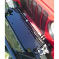 """WINCH MOUNT PLATE TJ-YJ 87-06, This winch mounting plate is designed to use OE bumper bolt holes. It can be used with any standard bottom mount winch with a 10"""" x 4.5"""" bolt pattern. Tough powdercoated steel provides a long durable mount point. pattern. Tough powdercoated steel provides a long durable mount point.                         Replaces: 11238.10Made in CHINAUPC: 804314116170Label: PLATE WINCH MNT TJ-YJ 87-06"""