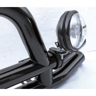 LIGHT MOUNTING BRACKET FOR TUBULAR BUMPERS 76-08 (EACH)This specially designed bracket is for use with a tubular bumper and allows you to mount the a fog light or spot light wherever you want.                             Replaces: 11503.81Made in TAIWANUPC: 804314116521Label: LIGHT MOUNT CLAMP TUBLAR BUMPR