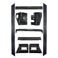KIT FULL, BODY ARMOR TJ 9-PIECES
