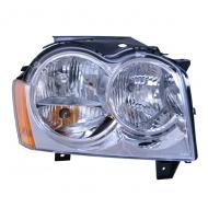 HEADLIGHT ASSEMBLY RH WK 05-07Replaces: 55156350AFMade in TAIWANUPC: 804314168629Label: HEADLIGHT ASSEMBLY RH WK 05-07