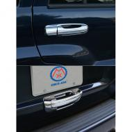 DOOR HANDLE COVERS CHROME WJ 99-04, 10 PCReplaces: 13310.13Made in TAIWANUPC: 804314169251Label: DOOR HANDLE COVERS CHM WJ