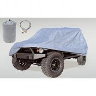 CAR COVER KIT JK 2-DOOR 07-09 INCLUDES COVER, BAG CABLE & LOCK