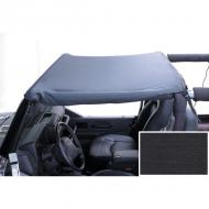 HEADER SUMMER BRIEF, BLACK DENIM, 97-06 JEEP WRANGLER, UNLIMITED