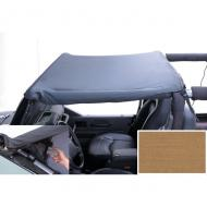 """POCKET BRIEF, SPICE, 97-06 JEEP WRANGLER/UNLIMITED (HEADER MOUNT)The Pocket Brief is a Summer Brief - only better! This new design includes some cool features like the elimination of the rear straps and the all-new addition of corner storage pockets for convenience. This revolutionary design addition of corner storage pockets for convenience. This revolutionary design incorporates two mesh zippered corner pockets in the corners over the driver & passenger creating much needed zip-up storage space. Exclusive features include: special two-sided mesh & nylon """"pocket"""" seals that shut with a reinforced zipper to keep small items in place; built directly into the Summer Brief to ensure a clean tight fit, that isn't really noticeable from outside.                 Replaces: 13585.37Made in CHINAUPC: 804314121082Label: POCKET BRIEF 97-06 SPC 918217"""