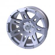 ALUMINUM WHEEL 17X9 JK, SILVER, RUGGED RIDGE, 12MM OFFSET, 5 ON 5Replaces: 15301.40Made in CHINAUPC: 804314168902Label: WHEEL 17X9 JK SILVER