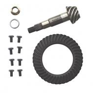 RING & PINION 3.73:1 01 XJ DIESEL, 01-02 TJ REAR DANA 352001 XJ Diesel, 2001-02 TJ Rear D35 Spicer brand stock replacement ring and pinion gear set.                             Replaces: 76281-7Made in USAUPC: 804314148164Label: R&P 3.73 R D35 TJ XJ 01-02