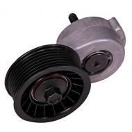 TENSIONER WITH PULLEYReplaces: 53010158Made in S. KOREAUPC: 804314055189Label: 17112.50 TENSIONER W/PULLEY F9