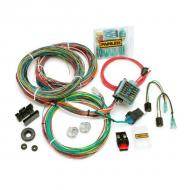 PAINLESS WATERPROOF WIRING HARNESS CJ2 CJ5 45-74The best wiring harnesses for rough off-road conditions just got better with the introduction of this new weatherproof harness. It features a weatherproof fuse block with clear O-ring-sealed cover, weatherproof heat-sealed crimp-on weatherproof fuse block with clear O-ring-sealed cover, weatherproof heat-sealed crimp-on terminals, weatherproof horn relay, and machine crimped splices with weatherproof shrink tubing.                       Replaces: 10142Made in USUPC: 804314160432Label: PAINLESS HARNESS CJ 45-74 H20
