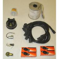 TUNE UP KIT 4 CYLINDER 53-63Replaces: TUK-103Made in USAUPC: 804314111021Label: 17257.73 TUNE UP KIT 4CL 53-63