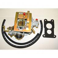 CARBURETOR GM151 2.8L WEBER  Replaces: K490 Made in USA UPC: 804314073916 Label: 17702.02 CARB GM151 2.8 WEBER   If you get this carb and do not like it,  you can return it within 30 days.   If it comes into contact with fuel, it becomes NOT RETURNABLE.  If for any reason,  this carb smells like fuel,  it is NOT Returnable.  IF YOU DECIDE TO USE THIS CARB,  FLUSH OUT THE ENTIRE FUEL SYSTEM.  PUT IN A NEW FUEL FILTER AND CLEAN OUT THE FUEL PUMP BOWL.  THE SMALLEST AMOUNT OF DEBRIS IN THE FUEL LINES CAN DISABLE YOUR CARB.    NO CARB THAT HAS COME INTO CONTACT WITH FUEL IS RETURNABLE.
