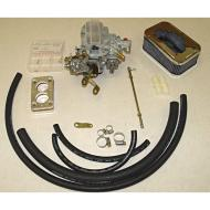 CARBURETOR ASSEMBLY 400CFM 2-BBL 6C  Replaces: K55138 Made in USA UPC: 804314073978 Label: 17702.07 CARB ASM 400CFM 2B 6C   If you get this carb and do not like it,  you can return it within 30 days.   If it comes into contact with fuel, it becomes NOT RETURNABLE.  If for any reason,  this carb smells like fuel,  it is NOT Returnable.  IF YOU DECIDE TO USE THIS CARB,  FLUSH OUT THE ENTIRE FUEL SYSTEM.  PUT IN A NEW FUEL FILTER AND CLEAN OUT THE FUEL PUMP BOWL.  THE SMALLEST AMOUNT OF DEBRIS IN THE FUEL LINES CAN DISABLE YOUR CARB.    NO CARB THAT HAS COME INTO CONTACT WITH FUEL IS RETURNABLE.