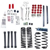 LIFT KIT WITHOUT SHOCKS, RUGGED RIDGE ORV, 4 INCH TJ 97-02