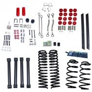 LIFT KIT WITHOUT SHOCKS, RUGGED RIDGE ORV, 4 INCH WRANGLER UNLIMITED 03-06Replaces: 18401.42Made in USAUPC: 804314165673Label: LIFT KIT ORV 4IN TJ UNL 03-06
