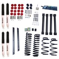 LIFT KIT, RUGGED RIDGE ORV, 2 INCH TJ 97-02 WITH SHOCKS