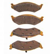 These are Front Disc Brake Pads. Waiting too long between brake jobs, can be a costly repair. These will fit the following vehicles:  1974-1991 Jeep Grand Wagoneer/Cherokee SJ
