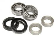 This is an axle shaft bearing, seal, and retainer kit. It is a common problem for these seals to leak on the Grand Cherokees. If you have any fluid on the back side of your rear brakes backing plate, you need this kit. If all the fluid leaks out and the axle is ran dry it could end up with some costly repairs. Kit is sold per individual side.