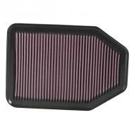 AIR FILTER, K&N, 07 3.8L JK WRANGLER, 2.8L DIESEL JK
